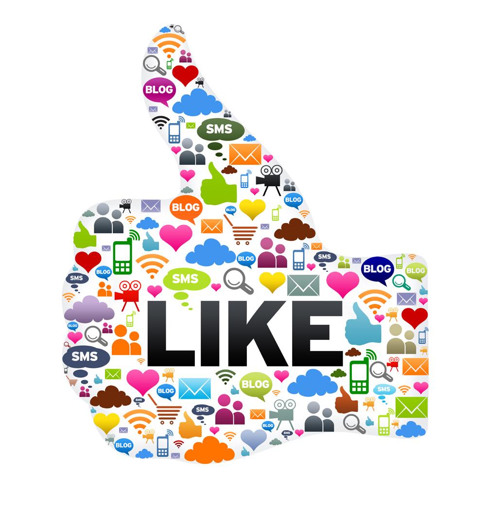 Социальные сети не очень охотно